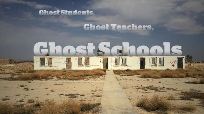 © Azmat Khan enquête sur les écoles fantômes d'Afghanistan
