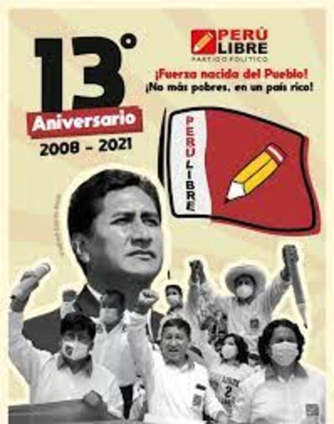 13 Aniversario del partido Perú Libre © Perú Libre