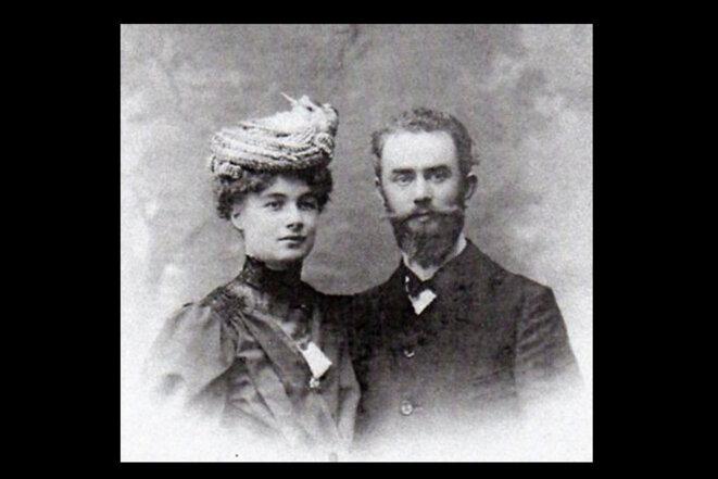 Marcelle et Henri Gosset, 1911 © Archive familiale