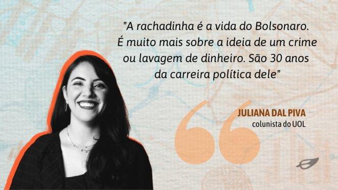 Juliana dal Piva, journaliste, née en 1986. © Abraji / UOL