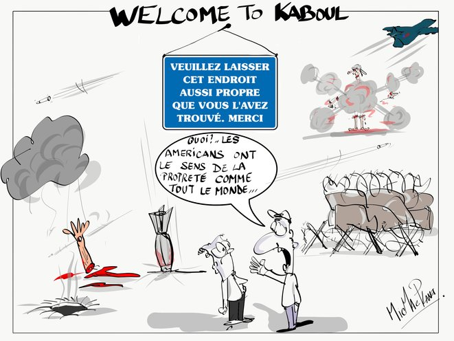 Welcome to Kaboul © micmacplanet