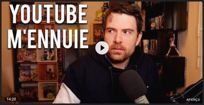 JDG - Youtube m'ennuie