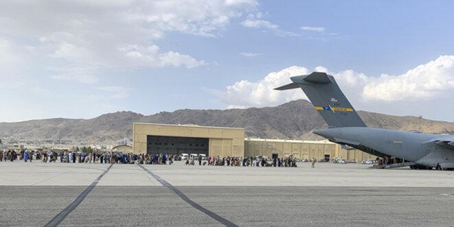 Il n'y a plus de vols d'évacuation depuis Kaboul... © U.S. Central Command Public Affairs Wiki PD