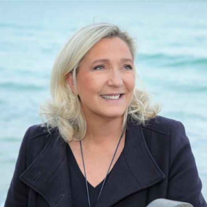 Marine Le Pen. Twitter.