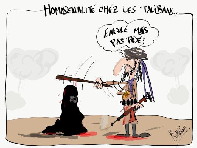Homosexualité chez les talibans © micmacplanet
