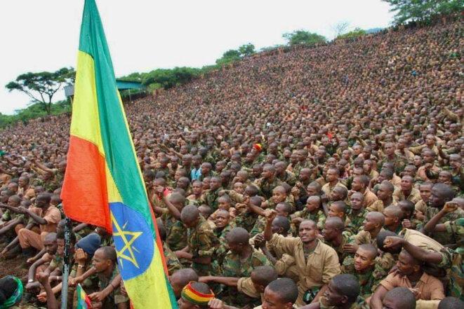 Ethiopian recruits