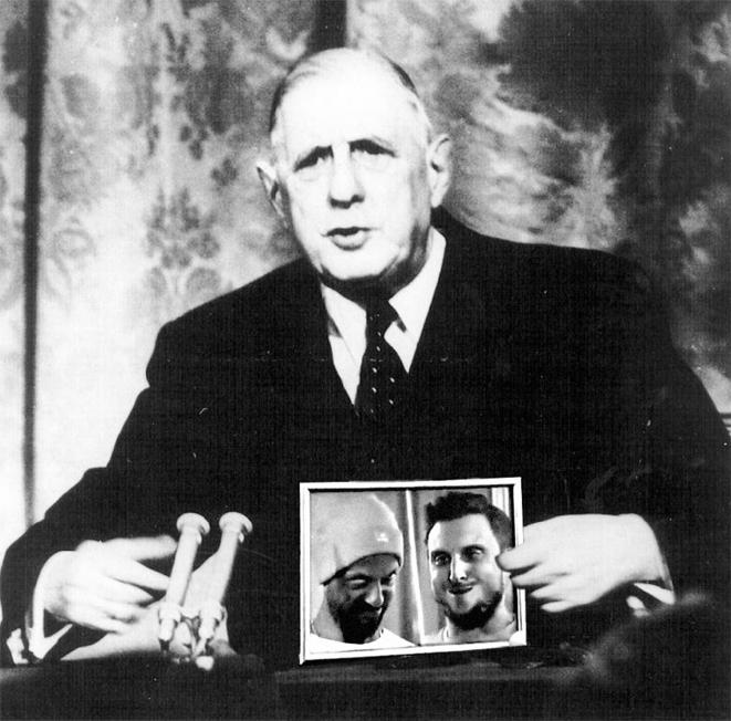 De Gaulle à l'époque - Montage Fred Sochard © Fred Sochard