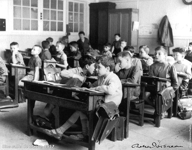 robert-doisneau-une-salle-de-classe-1957