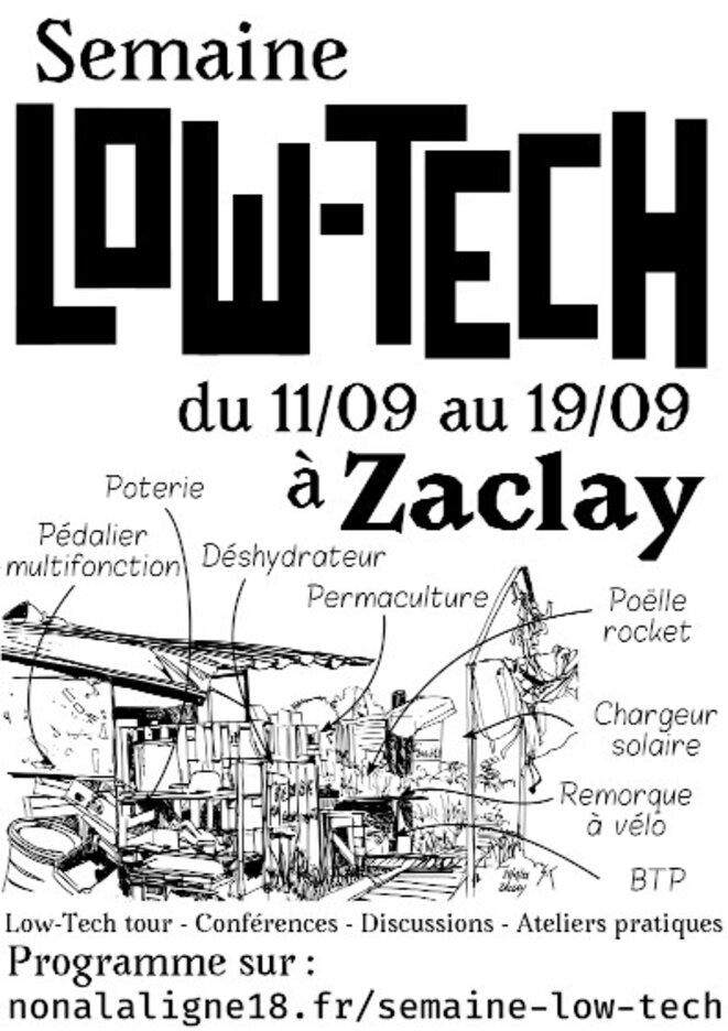 Semaine Low Tech, Zaclay, Septembre 2021 © Zaclay