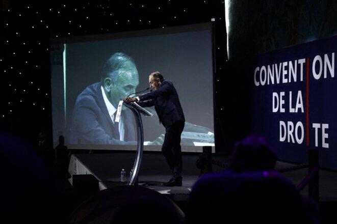 Éric Zemmour lors de la convention de la droite en septembre 2019. © Sameer Al-Doumy / AFP