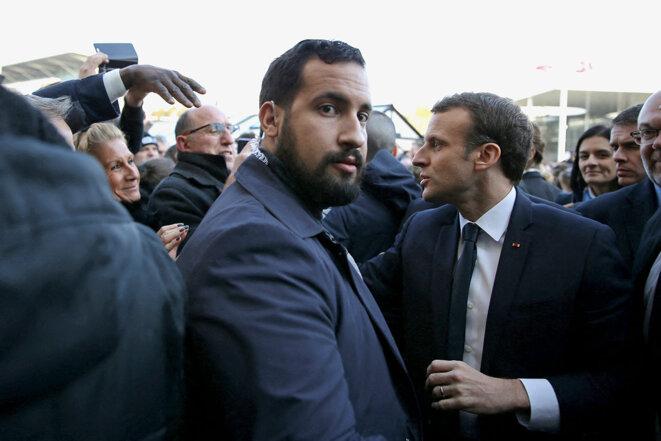 © Photo de Stéphane Mahé / Pool / AFP