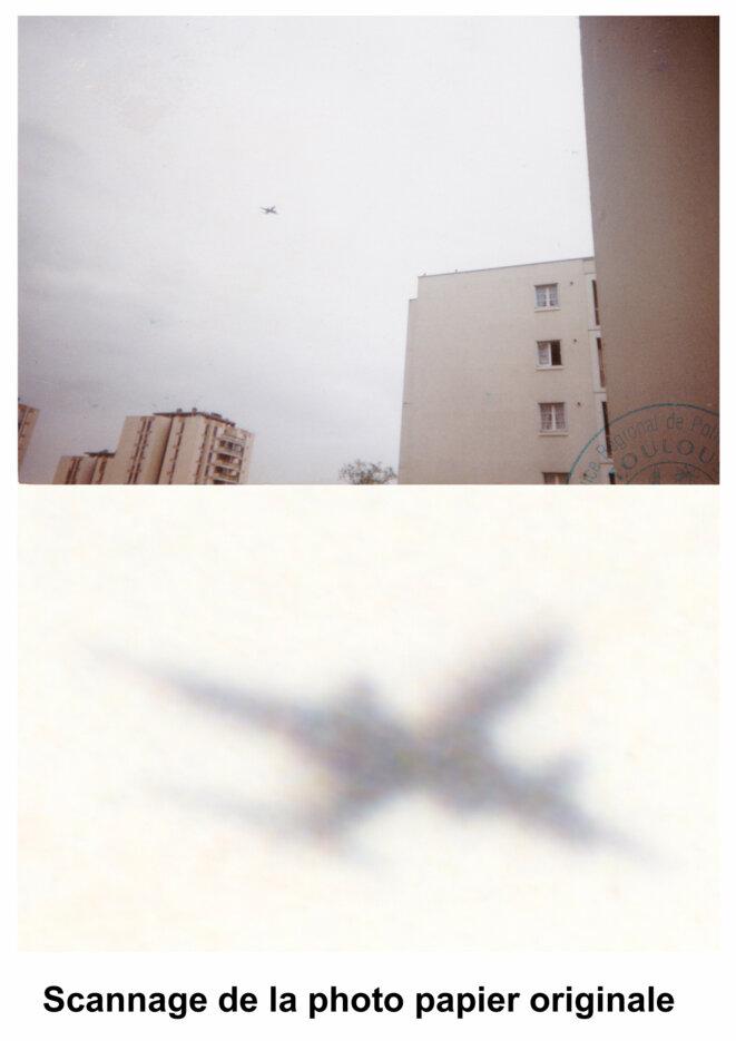 AZF - Photographie de Léon Caillaux - Avion © Léon Caillaux
