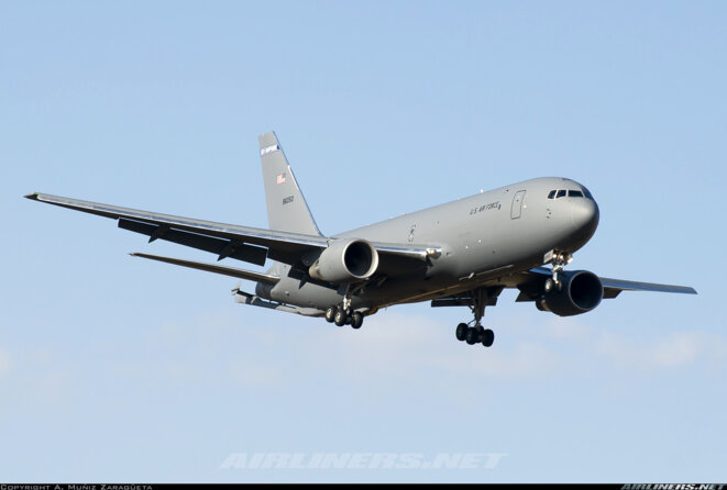 AZF Avion cargo militaire - Boeing 767 © Site Airliners