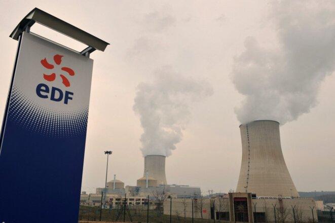 La centrale nucléaire de Civaux (Vienne), en 2011. © Alain Jocard / AFP