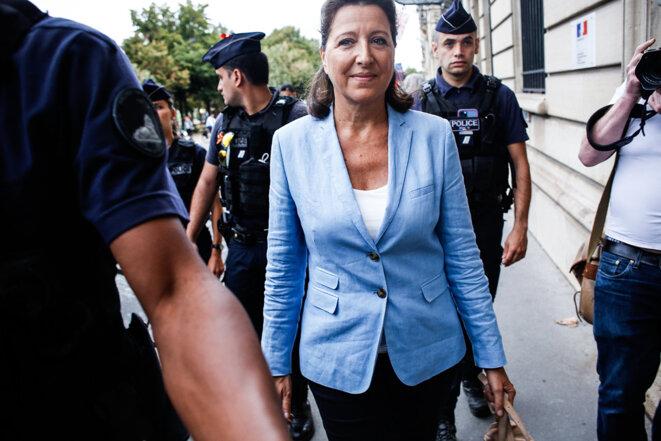 L'ex-ministre Agnès Buzyn, le 10 septembre. © Sébastien Calvet / Mediapart