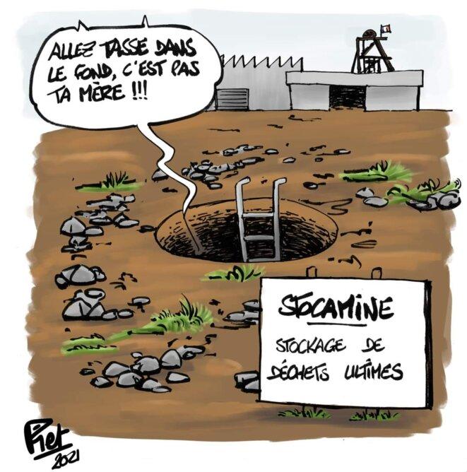 © Piet dessins de presse