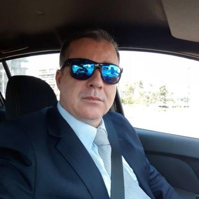 Marcelo Bormevet, ex-agent pénitentiaire, travaille pour les Services (Abin) depuis septembre 2019. © DR