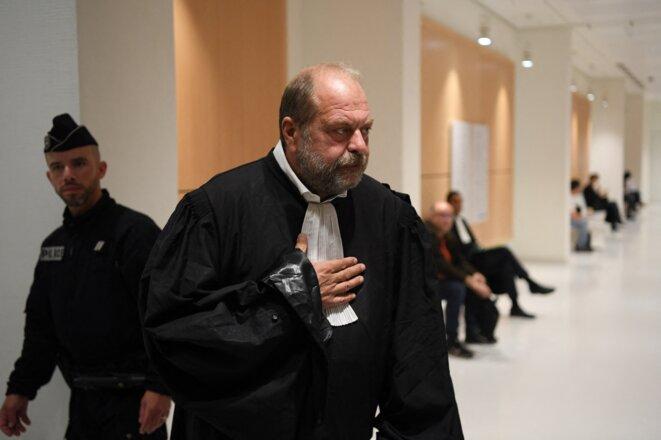 Éric Dupond-Moretti le 13 septembre 2019 au palais de justice de Paris © CHRISTOPHE ARCHAMBAULT / AFP