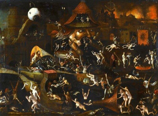 Le tour de l'enfer, de Jérôme Bosch