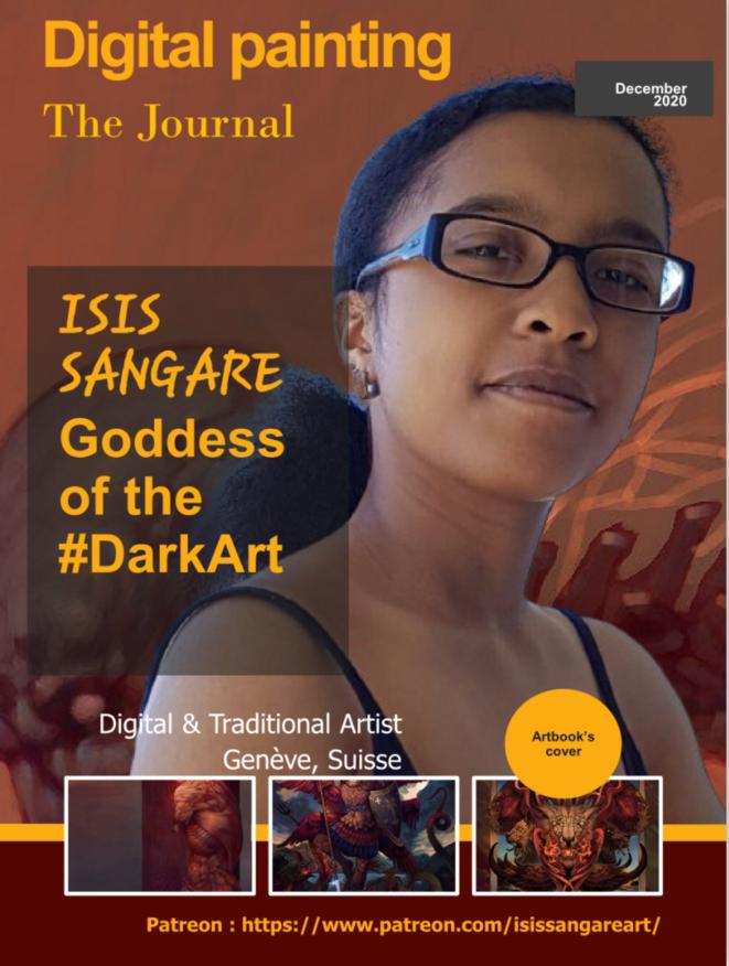 Isis Sangaré  Artiste © Isis Sangaré  Artiste