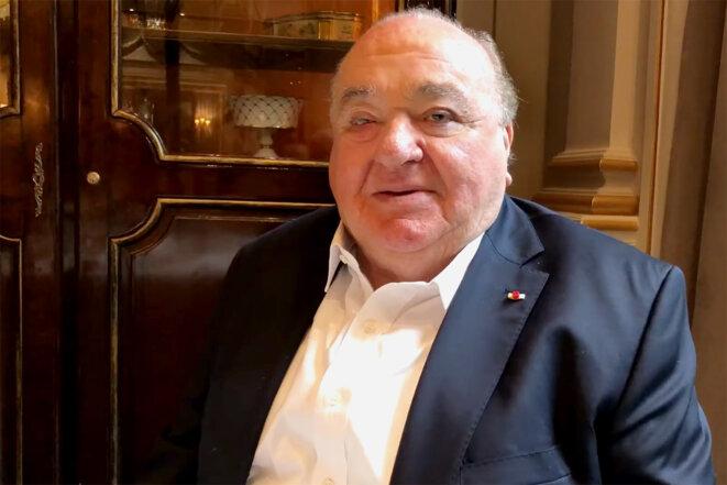 Jean-Pierre Bansard en 2018. © Capture d'écran Youtube