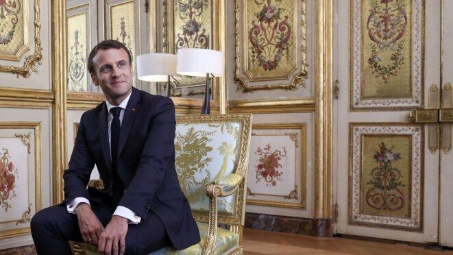 Emmanuel Macron © Sandrine Vanderlen