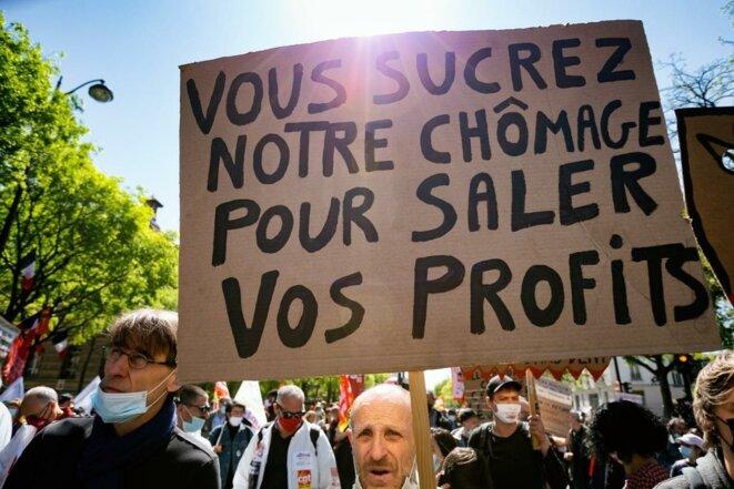 100 économistes signent un tribune publié sur Le Monde pour alerté des conséquences de la réforme de l'assurance-chômage, entrée en vigueur ce 1er octobre 2021 © Maxime Combes