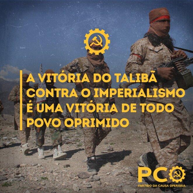 Le 14/8/2021, illustration du tweet du PCO. © PCO Brasil