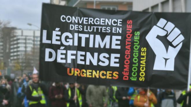 Créer le lien entre les luttes et les fédérer autour d'une force politique pour faire bloc et bousculer le système mortifière en place