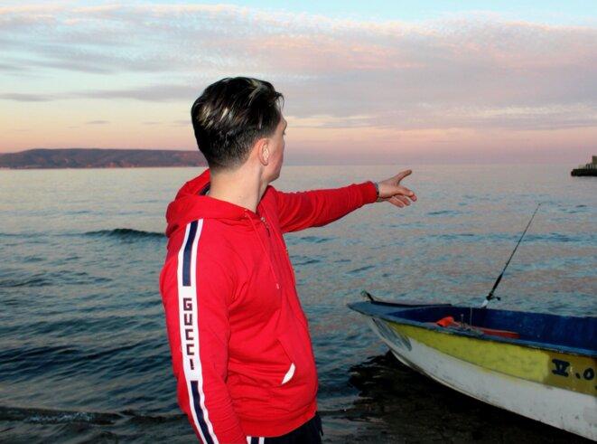 Yassine, un jeune Oranais, a tenté la traversée à plusieurs reprises sans succès. © NB.