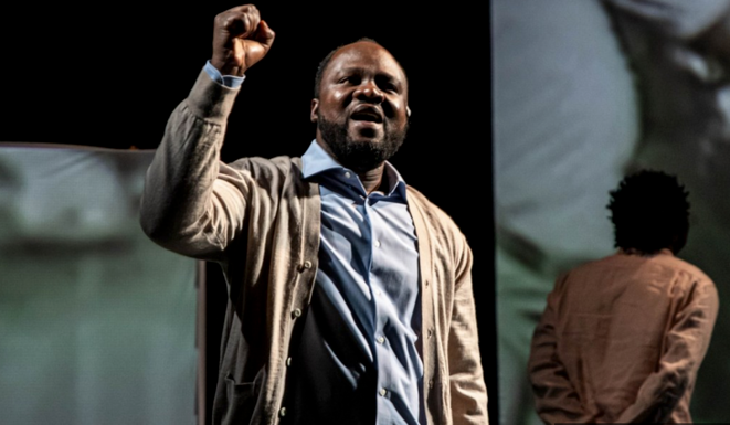 Moanda Daddy Kamono en Nelson Mandela (© Nicolas Martinez)