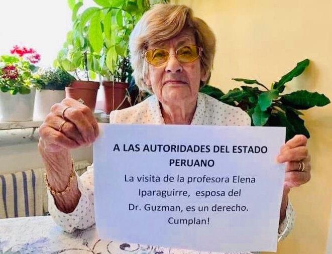 Delia Carrasco de la Torre (Suecia), suegra de Abimael Guzmán