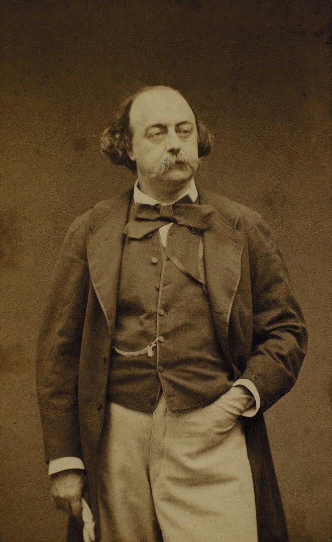 1860 - Etienne Carjat - Gustave Flaubert