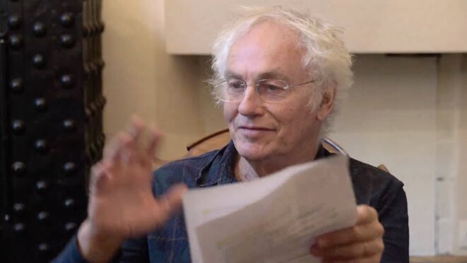 L'antropologue Alban Bensa © capture d'écran YouTube