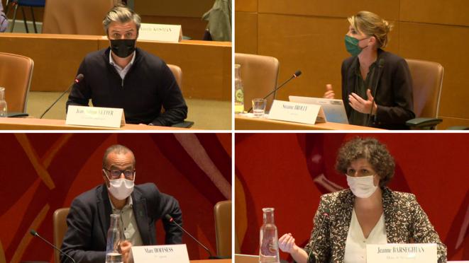 Conseil municipal de Strasbourg du 20 septembre 2021 – Question d'actualité © capture