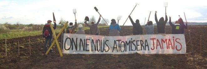 La résistance au projet CIGéO ne manque pas d'imagination ! © Bure à cuire