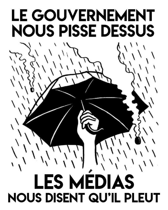 Sticker du collectif The Chômeuse Go On © The Chômeuse Go On