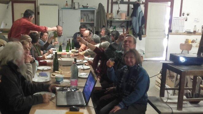 2016 – A l'occasion de la 10e assemblée général de l'association les Amis de la Cond' Alsace, ici à la ferme Moyses (Haut-Rhin) © Bruno Dalpra