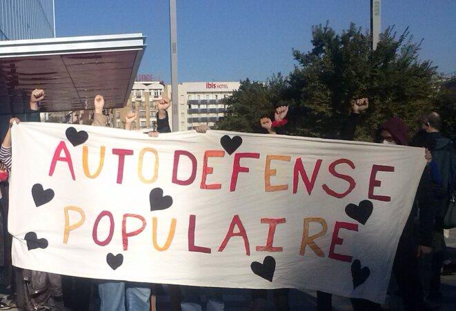 Une trentaine de personnes sont venues soutenir Alice et Fabrice lors de leur audience. © J.G