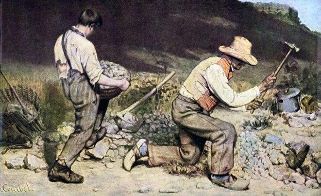 1848 - Courbet - Les casseurs de pierres