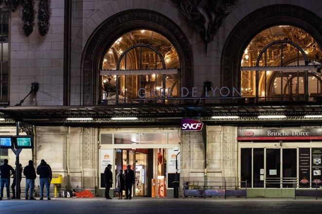 La gare de Lyon à Paris en 2020. © Photo Amaury Cornu / Hans Lucas via AFP