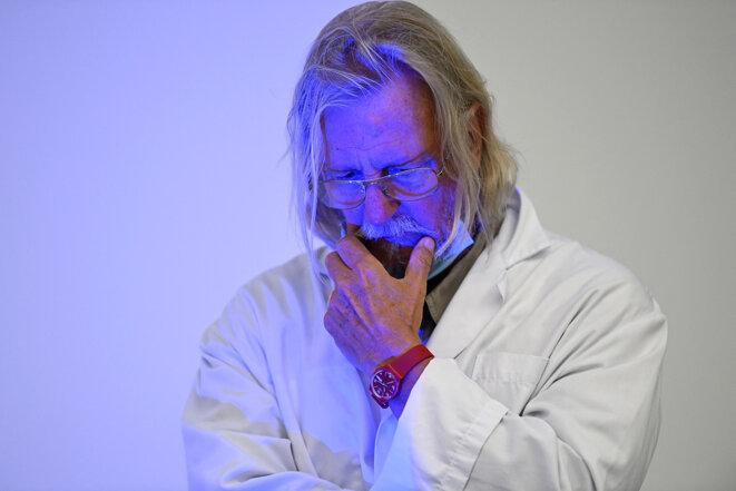 Didier Raoult. © Photo Christophe Simon / AFP
