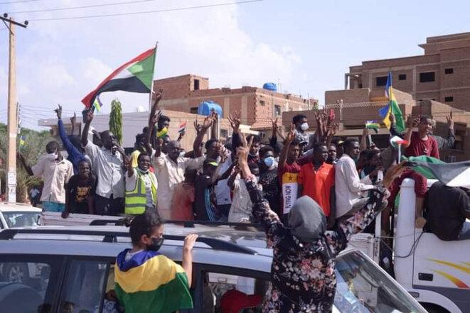 Image des manifestations du 21 octobre 2021. / Wadah Omar