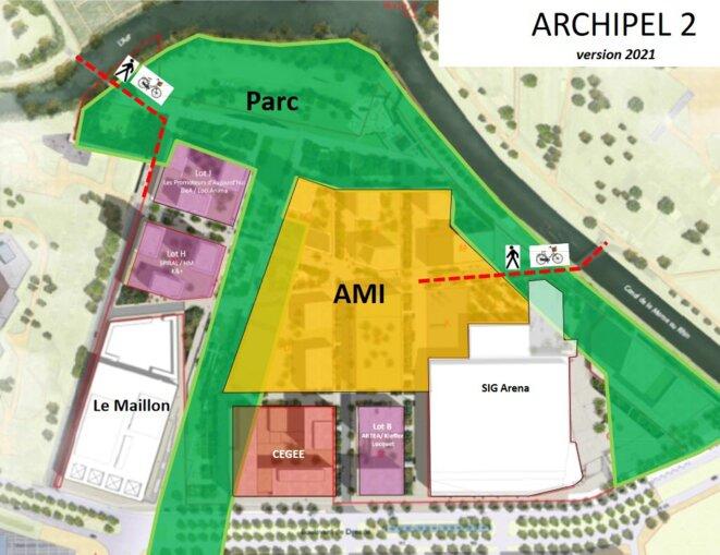 La 2e phase du quartier d'affaires. AMI pour Appel à manifestation d'intérêt. Photo DR Ville de Strasbourg