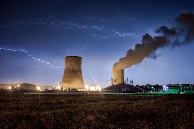 Centrale nucléaire de Civaux en 2016. © Photo Xavier Delorme / Biosphoto via AFP