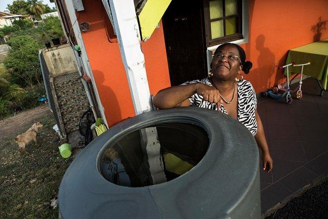 Guadeloupe: la vie sans eau potable le long du feeder