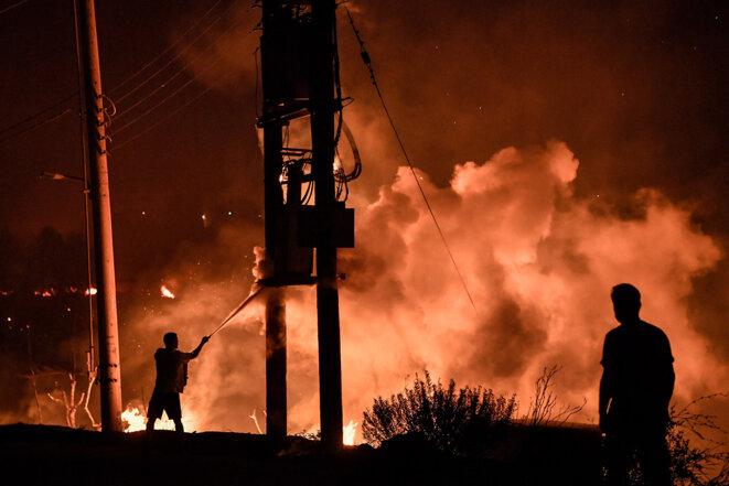 Les incendies font des ravages en Grèce et en Turquie