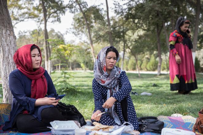 Avec les femmes de Kaboul