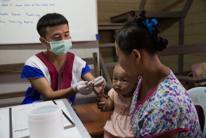 A la frontière birmano-thaï, au cœur de la lutte contre les épidémies