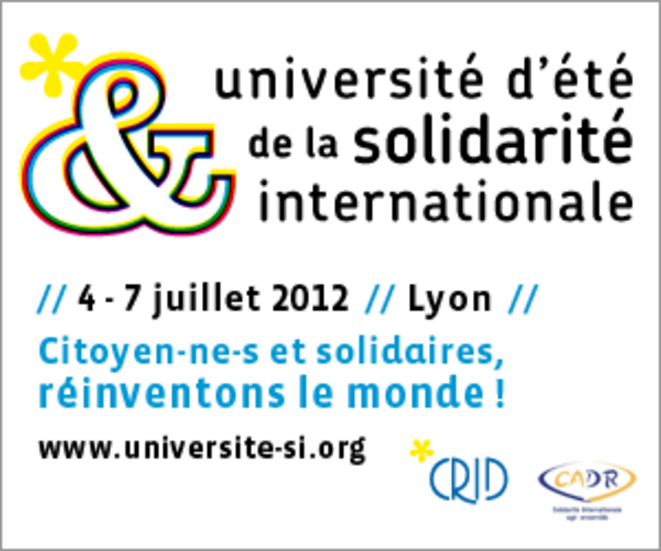 Université d'été de la solidarité internationale